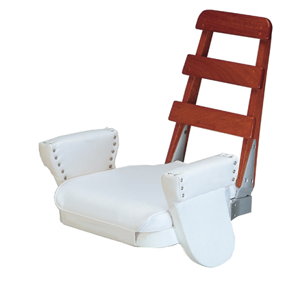 tracy ladder-back flybridge boat seat ...  sc 1 st  Tracy International & Boat Seats | Helm Chairs | Boarding Stairs | Luxury Helm Seats